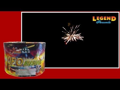 Legend Fireworks - UFO Missions 500G