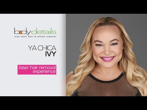 Laser Hair Removal Miami | Facial Hair Removal Results | Ya Chica Ivy | Body Details