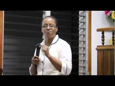 I found the answer down on my knees by Sis. Brenda Grant