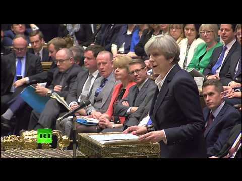 PM May invokes Article 50 triggering formal Brexit negotiations - Full statement to the House