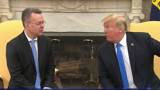 Pastor Andrew Brunson Meets With Trump After Release From Detention In Turkey | NBC Nightly News