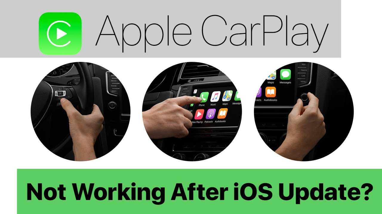 CarPlay Not Working After iOS Update, How To Fix