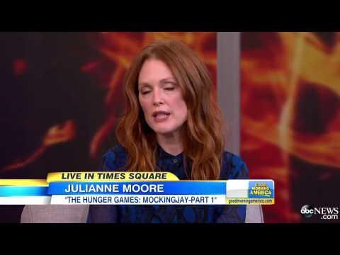 Julianne Moore on Philip Seymour Hoffman, `Hunger Games