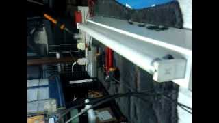 instalacion de fluorescente