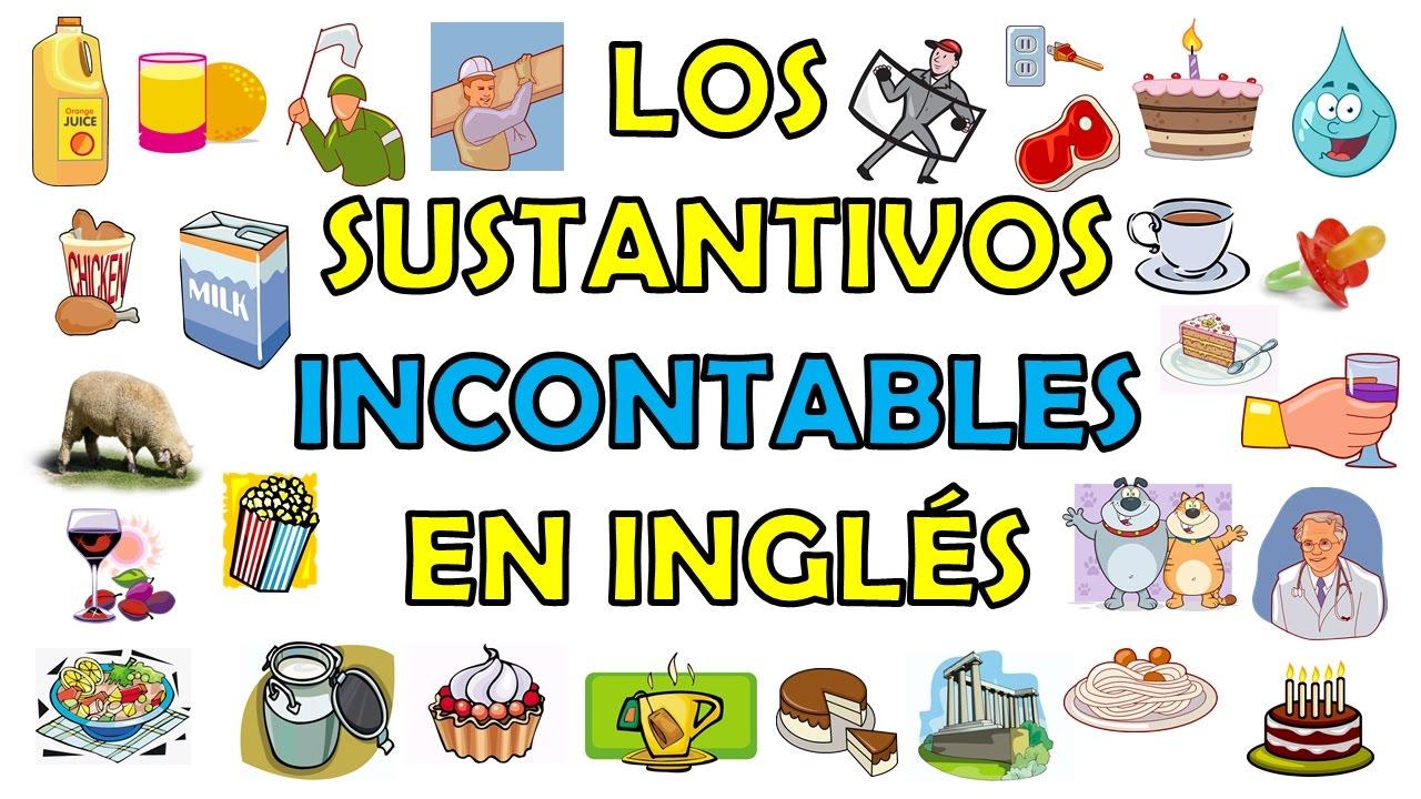 Ejemplos de sustantivos contables en ingles