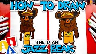 How To Draw The Utah Jazz Bear