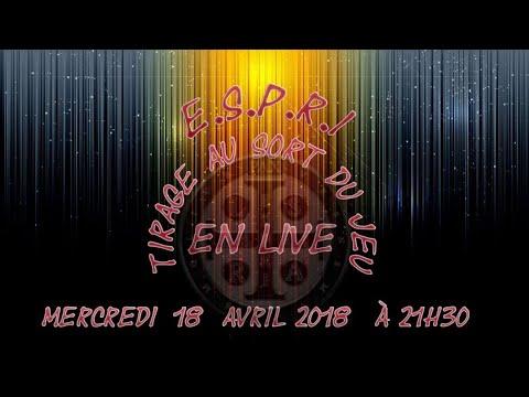 """""""Live E.S.P.R.I"""" à 21:30 parlons ensemble ! tirage au sort du jeu !"""