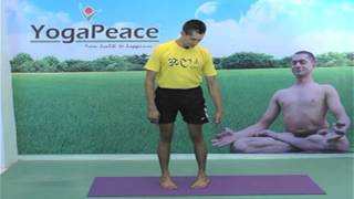 Sam Sthiti   How to Do Samasthiti Yoga Asana   Tadasana, Mountain Pose - Yogapeace