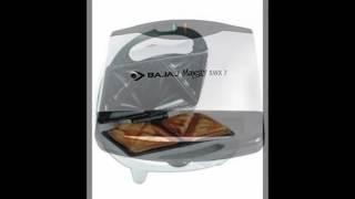 Bajaj Majesty New SWX 7 750-Watt Sandwich Toaster