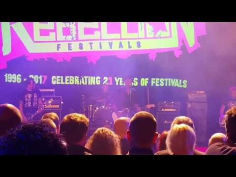 "The Professionals ""1-2-3"" Live at Rebellion Festival, Winter Gardens, Blackpool, Lancashire 8/4/17"