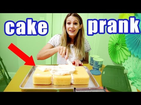Birthday Cake Prank DIY! Wife Pranks husband (he cried)