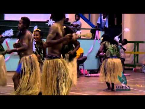 Isabel Students Dance USP Solomon Islands cultural night 2012