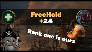 FreeHold +24  - Resto druid PoV (Zmug)