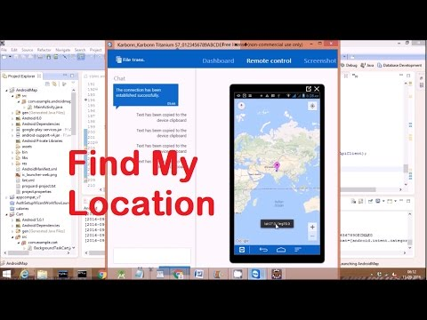Google Maps Tutorial:Getting Started With Google Maps for Android: on my state map, london weather map, my home location map, my current e-mail, cape town international airport map,