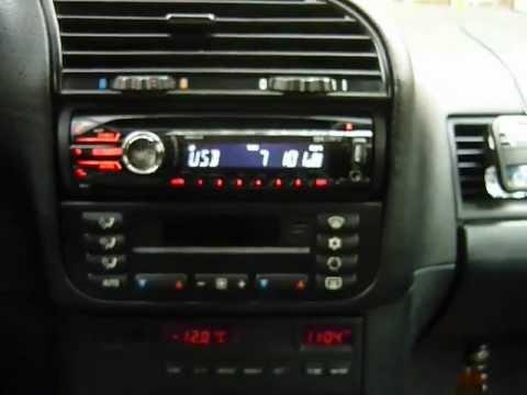 E36 Stock speakers & Sony CDX-GT40U