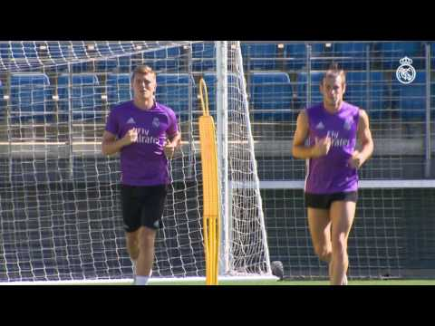 Gareth Bale and Toni Kroos return to training