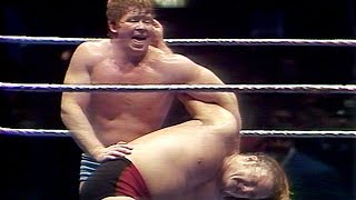 "Bob Backlund and Greg ""The Hammer"" Valentine fight tooth-and-nail for the WWE Title in Hidden Gem"