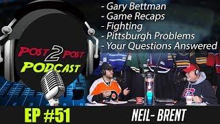 "Podcast: Ep #51 ""New P2P Set, Bettman, Fighting, Pittsburgh + More!"""