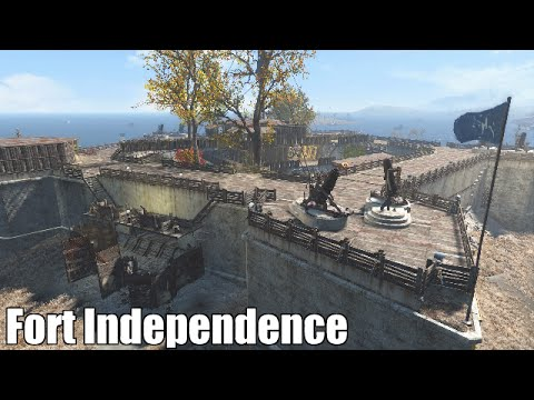 Welcome to Fort Independence (A Fallout 4 Player Made Settlement)
