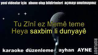 tu guli ez bilbile teme karaoke kürtçe