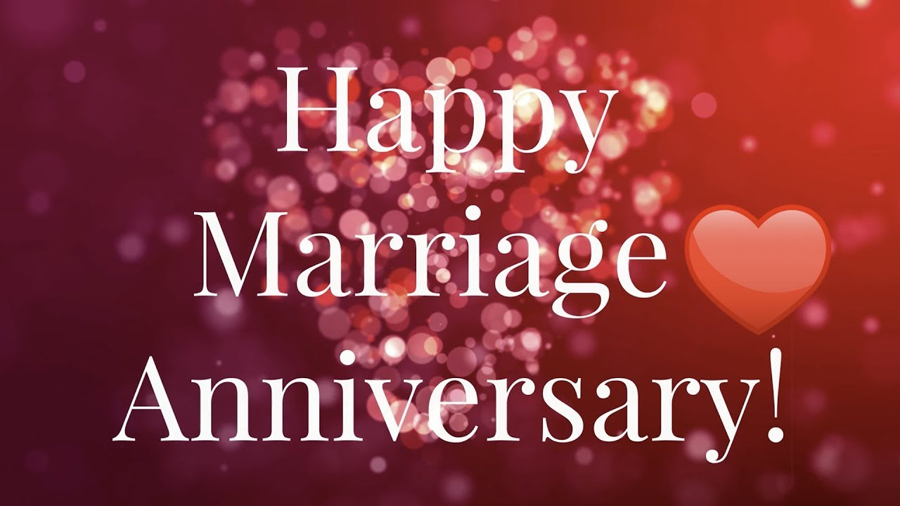 💖Happy Marriage anniversary Wishes - Happy Anniversary Song 💖