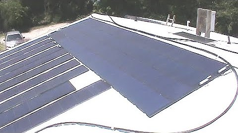 2.7 KW Unisolar Flexible Solar Array