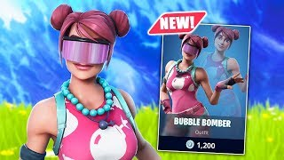 *NEW* Bubble Bomber Skin! Fortnite Battle Royale
