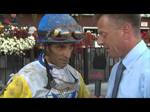 Post Race Interview - Shine Again with John Velazquez