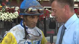 Post Race Interview - Shine Again with John Velazquez