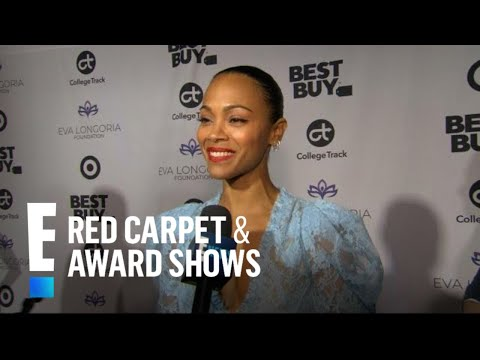 Zoe Saldana Opens Up on Date Night With Marco Perego  E! Red Carpet & Award s
