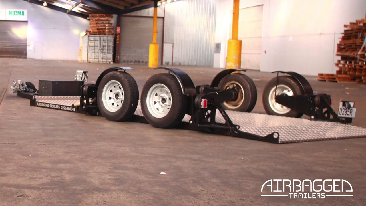 Airbagged Trailers Introduction Video YouTube