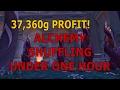 watch he video of Gold Making || Alchemy Shuffle in 7.1.5