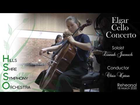 HSSO Elgar Cello