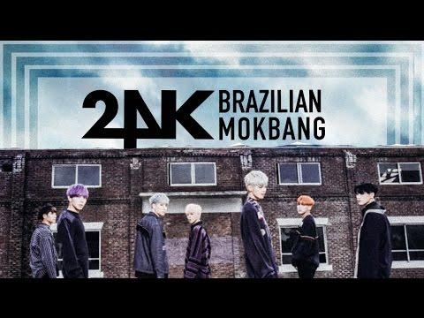 [ENTERTAINMENT] 24K KOREAN IDOLS TRYING BRAZILIAN FOOD
