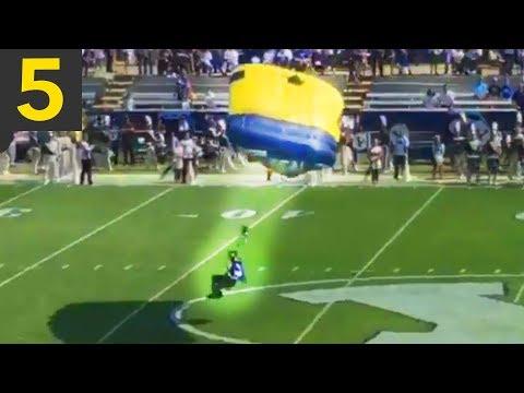 Top 5 Failed Parachute Landings