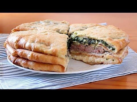 Empanada de 3 rellenos osetia ¡700 años de antigüedad!