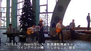 2016.6.28 ネイチャーチャンバー(ウイングベイ小樽内)で行われた、飲...