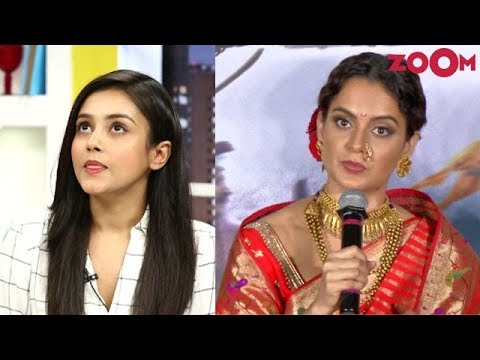 Mishti Chakraborty REACTS on Kangana Ranaut's Manikarnika controversy