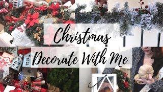 DECORATE WITH ME FOR CHRISTMAS // CHRISTMAS DECOR TIPS // CHRISTMAS 2018