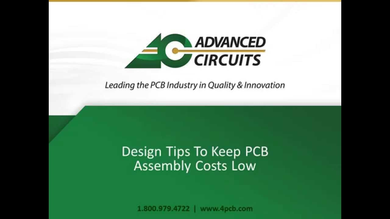 How To Set Up Pcb Design Lower Assembly Cost Advanced Circuits Gps Tracker Board Printed Circuit Buy Youtube