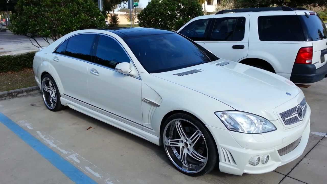 Mercedes Benz S550 Wald International Edition With Strut