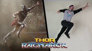 Stunts From Thor: Ragnarok In Real Life (Marvel Movie)
