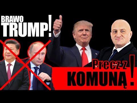 Brawo Trump! Precz z komuną! Kowalski & Chojecki NA ŻYWO w IPP TV 10.11.2017
