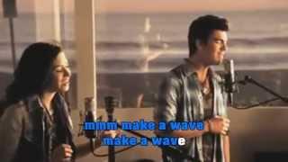 Karaoke Make a Wave (Sing with Joe Jonas) Instrumental