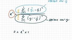 Bestimmtheitsmaß R-Quadrat