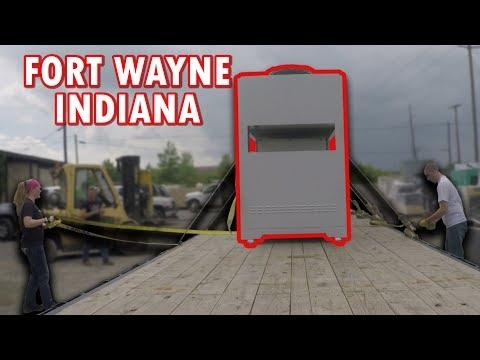 Fort Wayne Indiana Ride Along Hot Shot Trucking 37