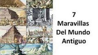 Las 7 Maravillas Del Mundo Antiguo En Dibujos