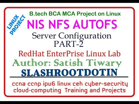 NIS Server configuration with NFS and AUTOFS in Linux(Linux Project)
