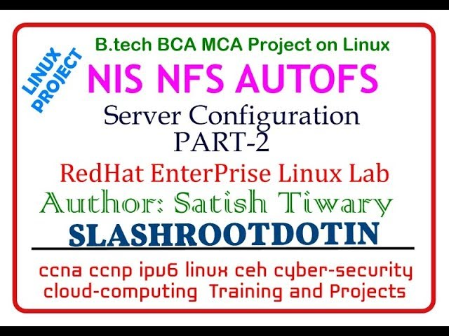 How to Configure NIS Server and NIS Client in RHEL5 | Learn Linux