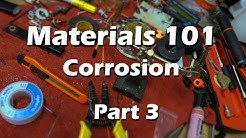Materials Science Mechanical Engineering  - Part 3 Corrosion Explained